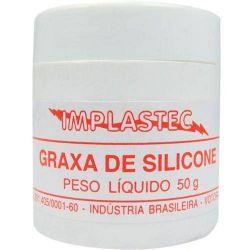 GRAXA DE SILICONE (P/AUTO VACUO) 50GR