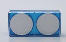 MEMBRANA PVDF HIDROFOBICO POROSIDADE 0.22 DIAMETRO 47MM